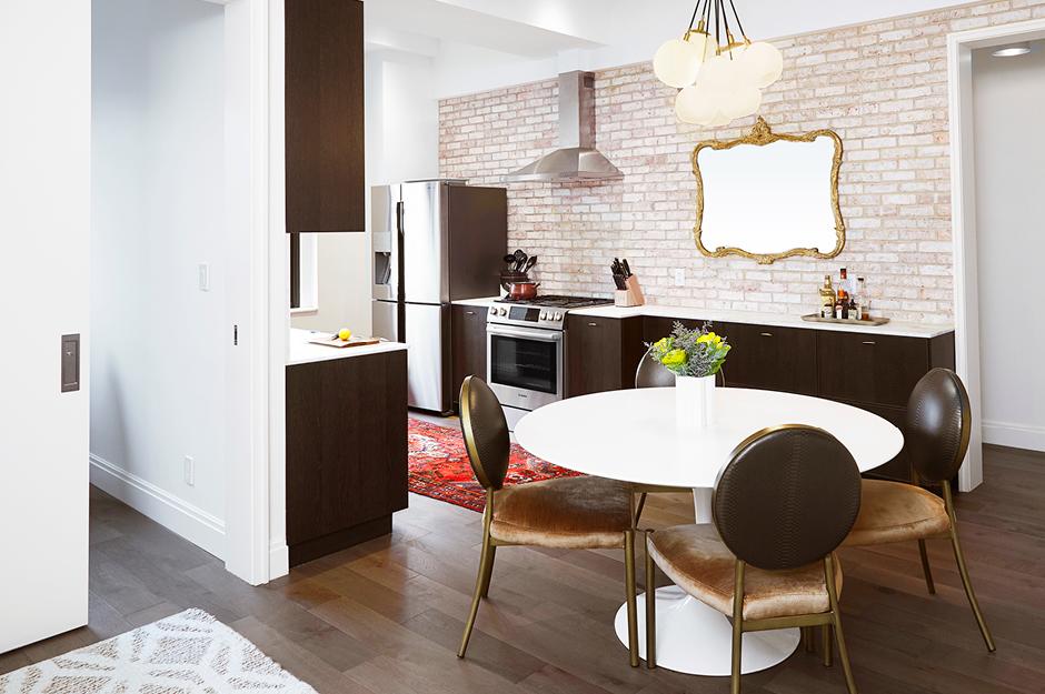 West end flat lauren rubin architecturelauren rubin for Room decor 6d