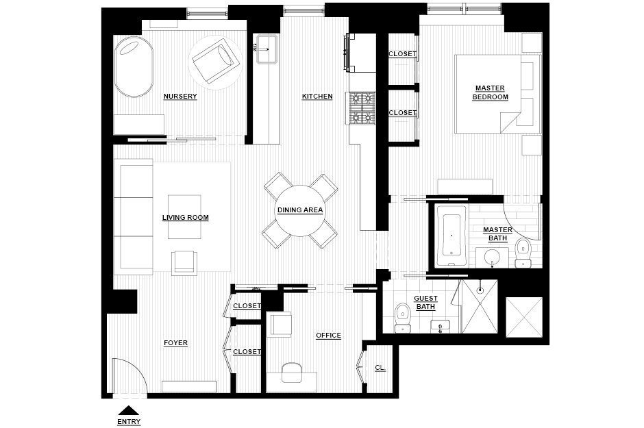 West End Flat_plan