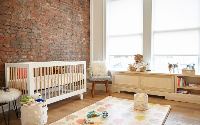 This historic Soho loft is converted into a new home for a growing family.
